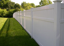 Bel Air Semi privacy fence panel