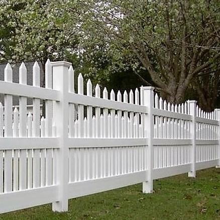 Denver Vinyl Picket Fence From Vinyl Fence Wholesaler