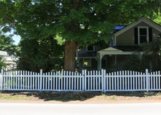 Olympia Arched Picket Fence