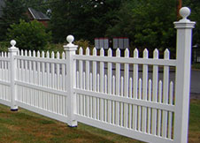 Providence Estate fences