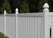 seneca vinyl pool fence 4' tall