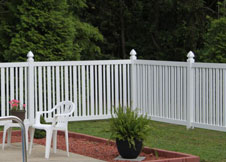 seneca pool fence 4' tall