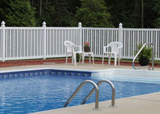 seneca vinyl pool fences