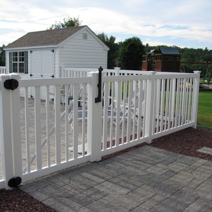 Instant Privacy Decks : Seneca pool fence semi privacy fast shipping
