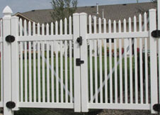 Sacramento white picket fence