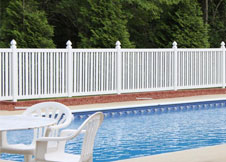 seneca swimming pool fence