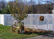 classic picket fence