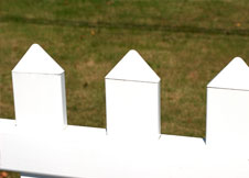 shasta vinyl privacy fence