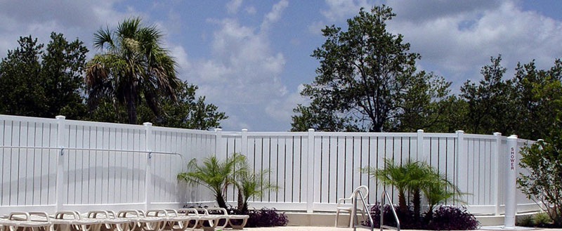 Pool Privacy Fence florida semi-privacy pool fence | vinyl fence wholesaler