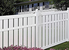 Florida vinyl pool fence 6' tall