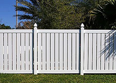 Florida semi privacy fence