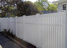 Florida semi privacy fence panels