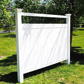 ohio vinyl privacy fence