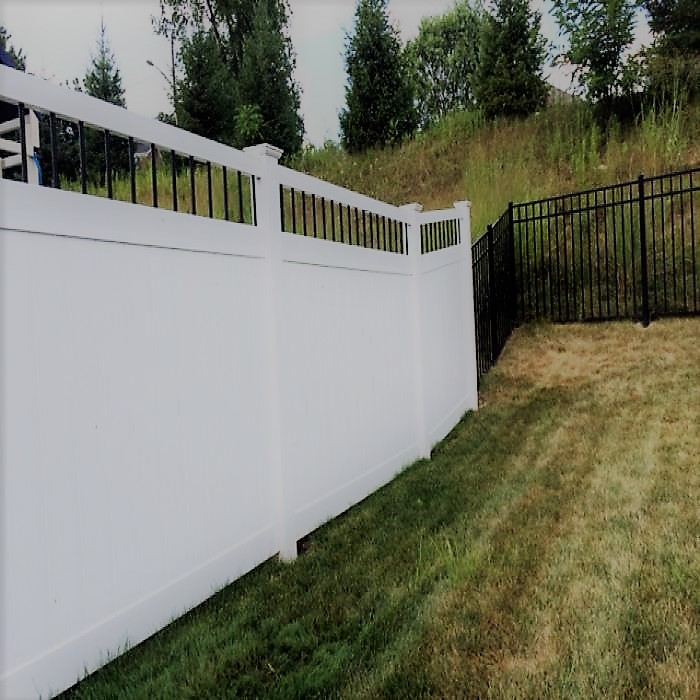Ohio Privacy Fence Wind Certified Vinyl Privacy Fence