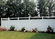 ohio tan privacy fence