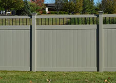 ohio privacy fence panel
