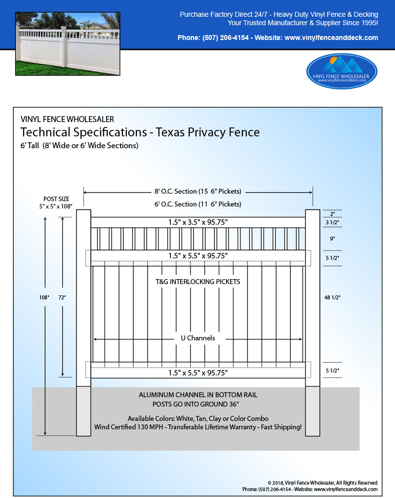 Texas Privacy Fence