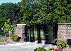 8' Tall Aluminum Gate