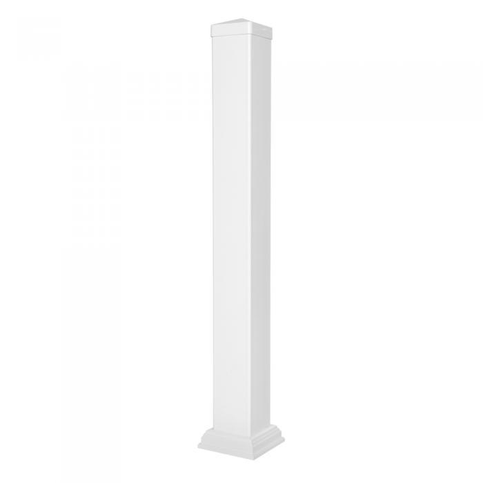 Railing Vinyl Post Kit White