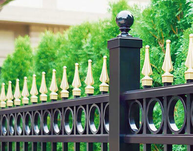 Aluminum Fence manufactured in USA