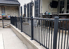 3' Tall Minnesota Aluminum Railing