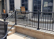 Aluminum Deck Railing Factory Direct