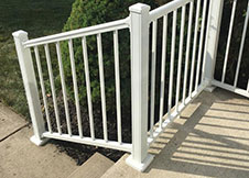 Black Aluminum Porch Railing Factory Direct