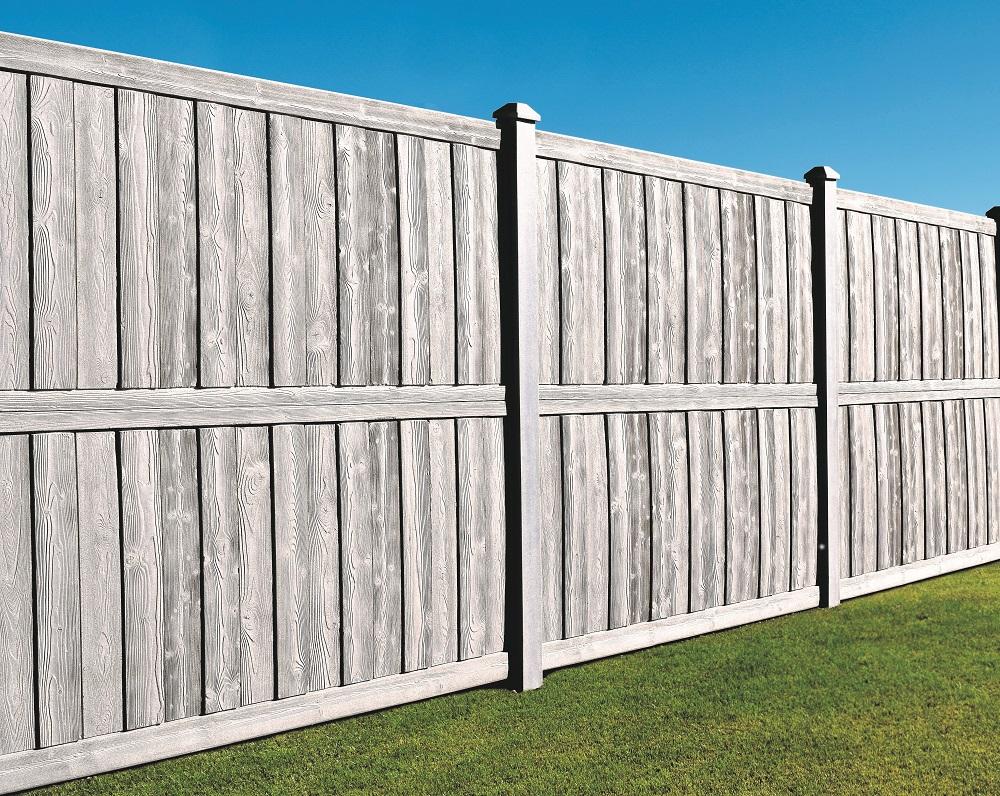 Ashland Privacy Fence Panels | SimTek Ashland Fence