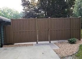 12' Tall Privacy Fence Panels