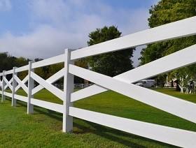 crossbuck equestrian fence