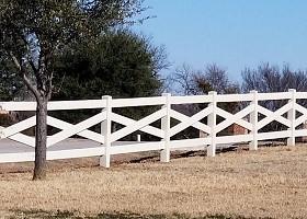 crossbuck horse fencing