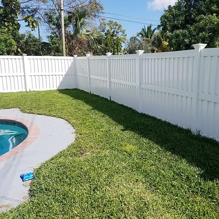 Wind Certified Florida privacy fence