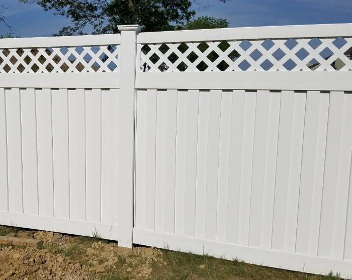 6' Tall Florida privacy fence