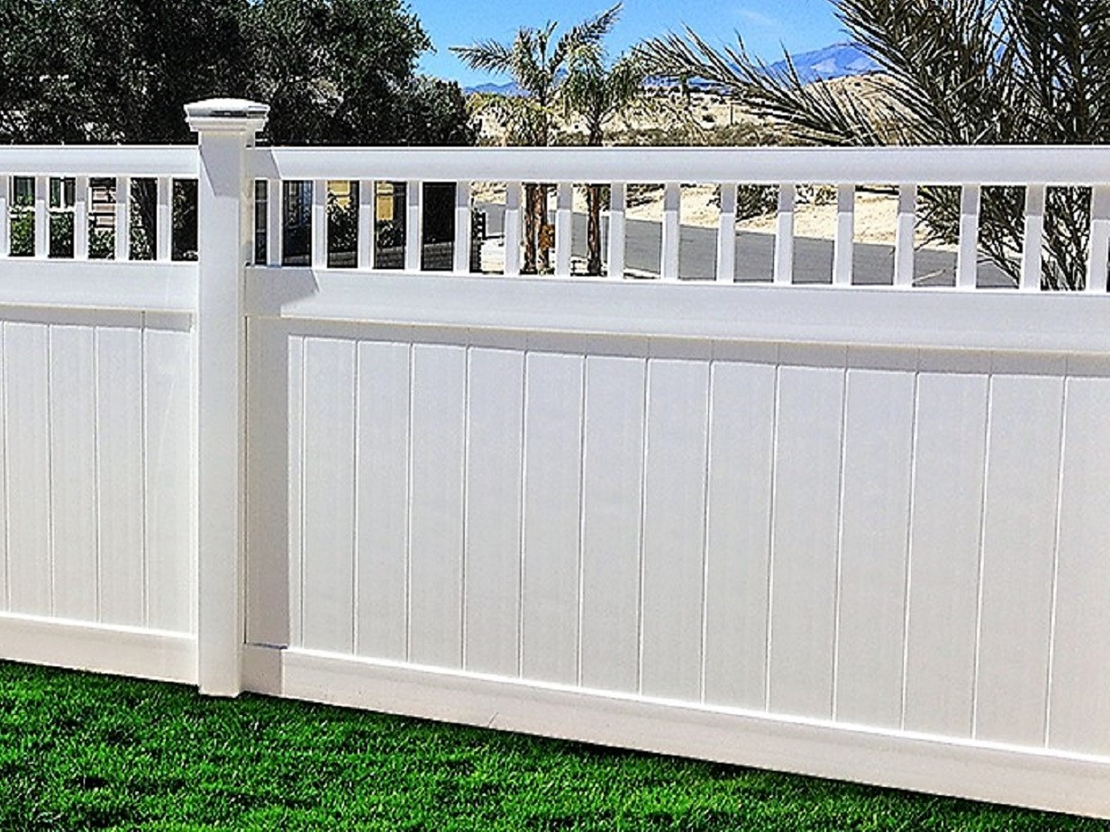 6' Tall Texas Privacy Fence plus Texas Vinyl Fencing
