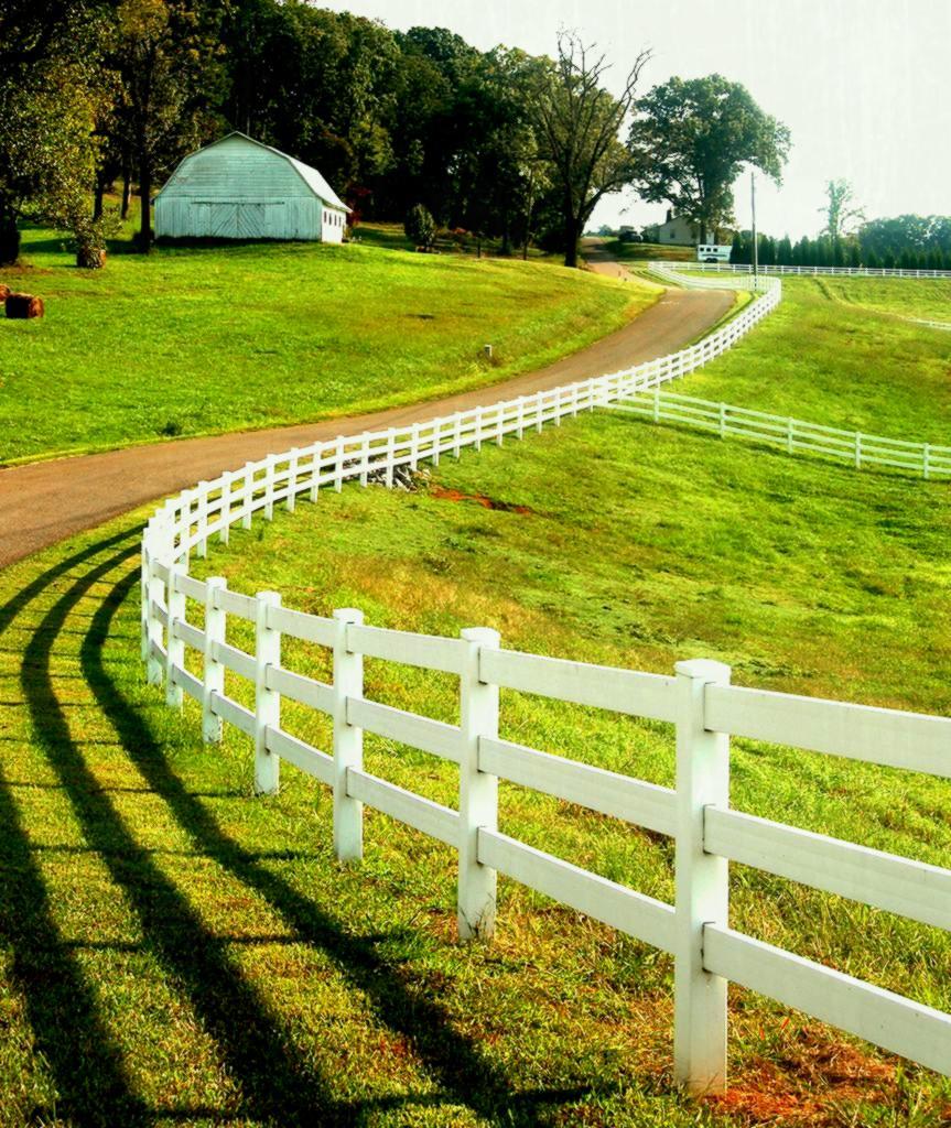 Vinyl Horse Fence Vinyl Farm Fence Post And Rail Fence
