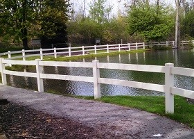 clay horse fence