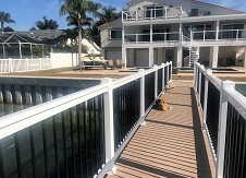 Beaumont Porch Railing + Beaumount vinyl Railing