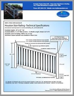 Houston Stair Railing