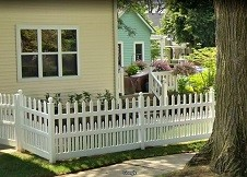 Providence white picket fence
