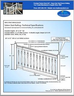 Winston Deck Railing