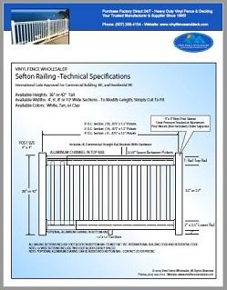 Sefton Deck Railing