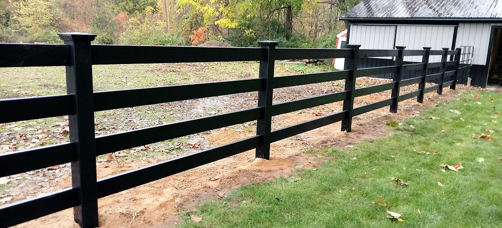 ranch fence install price