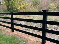 Rainier with Lattice vinyl privacy fence panels