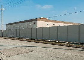 10' Tall vinyl fence wholesale