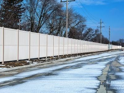 white vinyl fence wholesale
