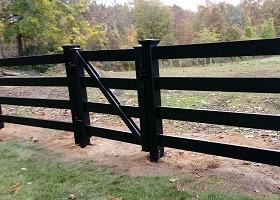 black Farm fence