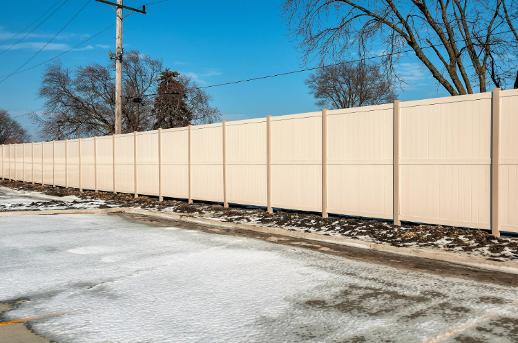 10 Foot Tall Privacy Fence by Vinyl Fence Wholesaler