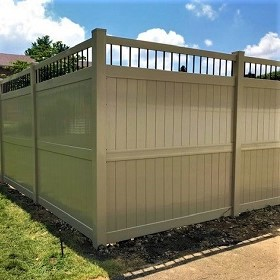 8'tall Ohio privacy fence