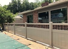 4' Tall Clay Ohio Privacy Fence