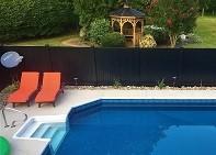 Black Vinyl Fence Color Options